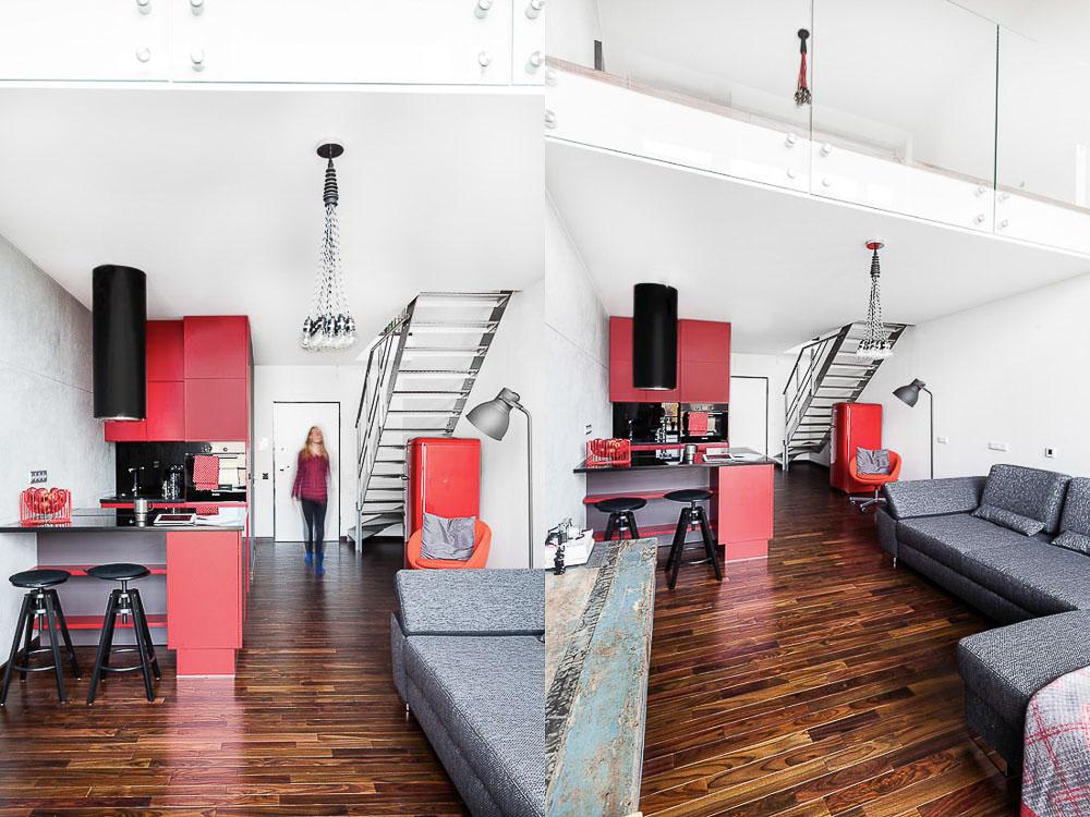 fotografia wnętrz nowoczesne lofty mieszkania w klimacie industrialnym lofty w warszawie ayuko studio