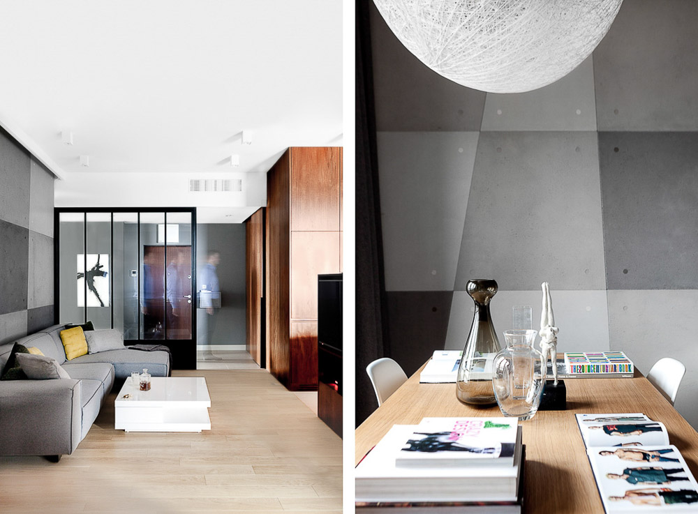 fotograf wnętrz warszawa sesja zdjęciowa minimalistycznego mieszkania wykonana przez ayuko studio