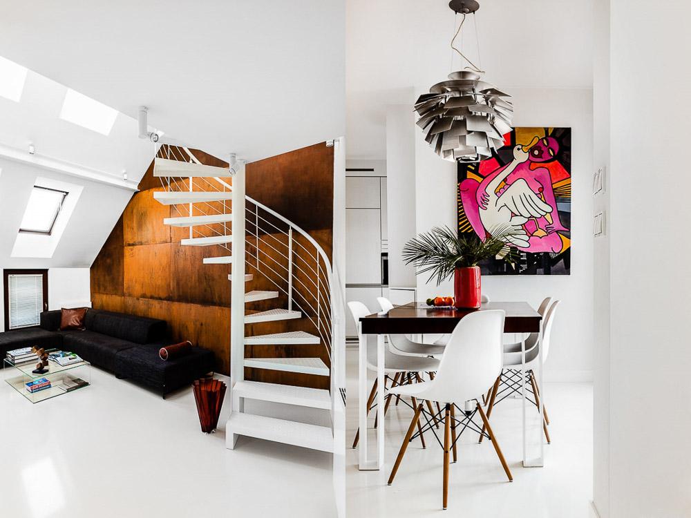 fotografia wnętrz kraków zdjęcia minimalistycznego i nowoczesnego apartamentu w Polsce wykonane przez ayuko studio