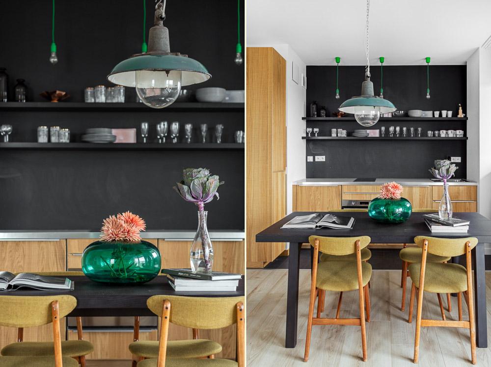 fotografia wnętrz trójmiasto mieszkanie w stylu vintage apartament retro warszawa ayuko studio